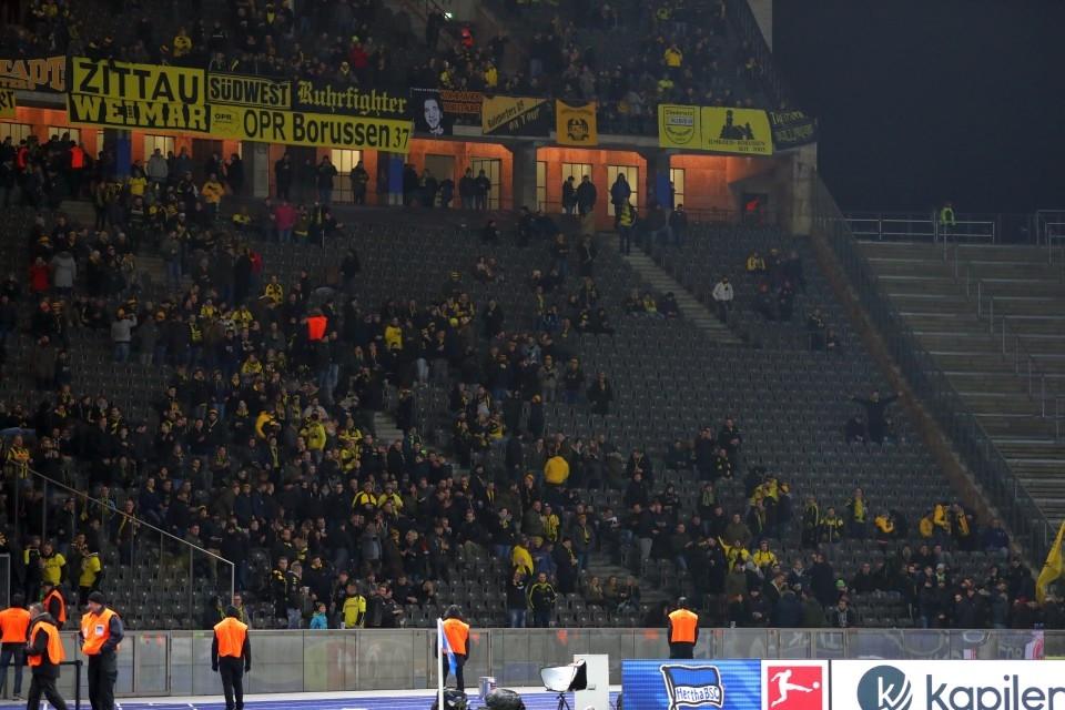 Hertha, BSC, Berlin, 19. Spieltag, 1. Bundesliga, Rückrunde, Unentschieden, Saison 201718, Fußball, Borussia, Dortmund, BVB, 09 - Hertha BSC - BVB
