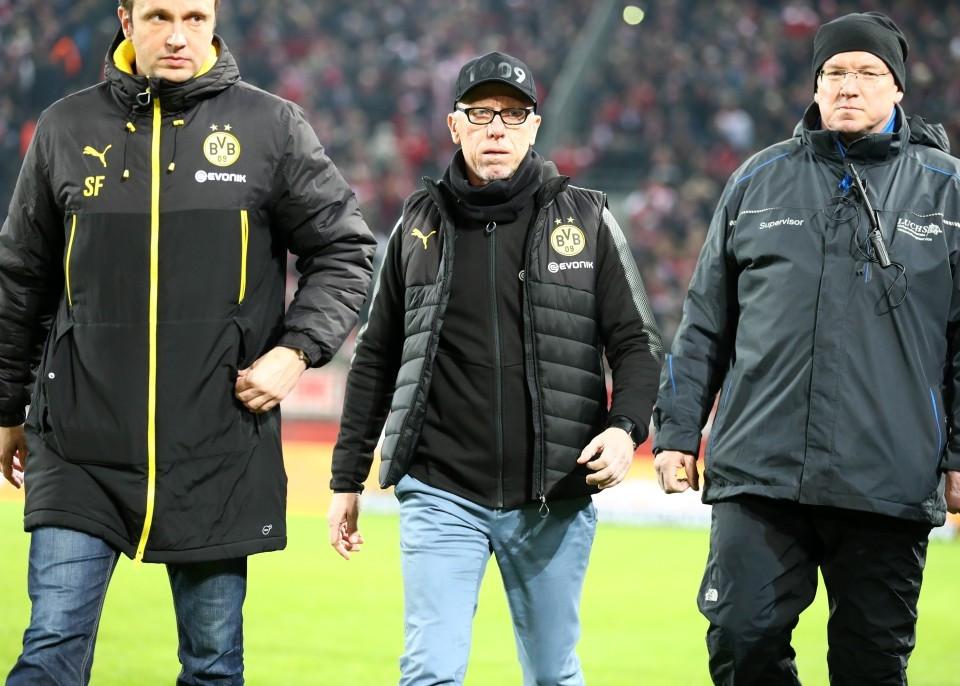 201718, 1. Bundesliga, Fussball, Fußball, GER, 1.BL, 1. BL, Herren, Saison, Sport, football, Halbfigur, halbe Figur, Halbkoerper - 1. FC Köln - BVB