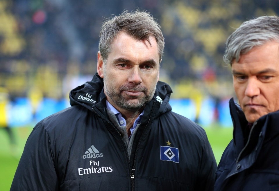 201718, 1. Bundesliga, Fussball, Fußball, GER, 1.BL, 1. BL, Herren, Saison, Sport, football, HSV, Portrait, besprechen, austauschen, unterhalten - BVB - HSV