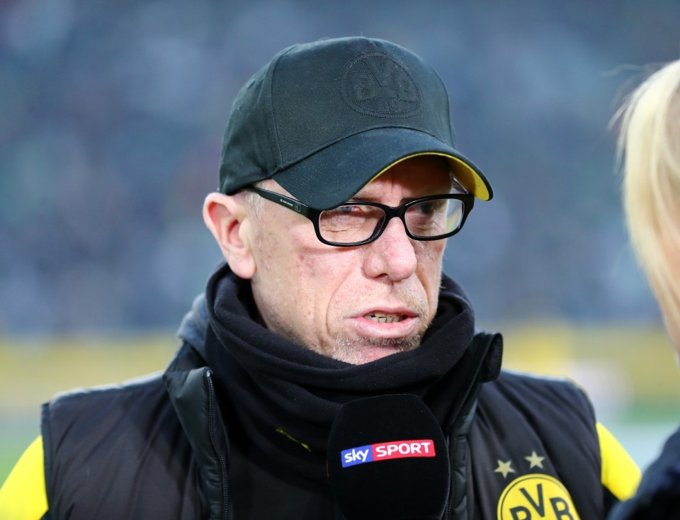 201718, 1. Bundesliga, Fussball, Fußball, GER, 1.BL, 1. BL, Herren, Saison, Sport, Halbfigur, Portrait, Mikrofon - Borussia Mönchengladbach - BVB