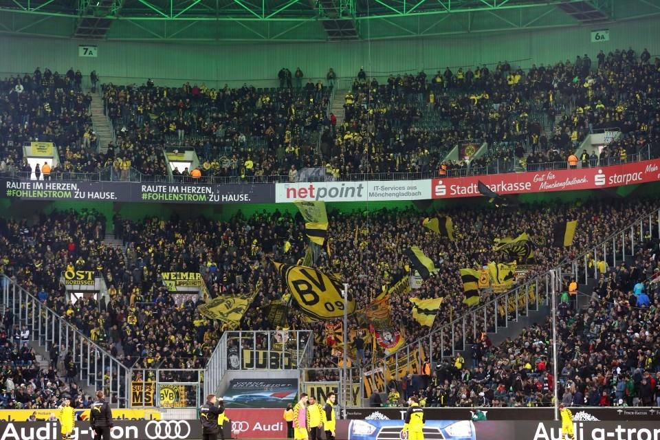 Auswärtssieg, 23. Spieltag, VfL, 1900, Mönchengladbach, BMG, 1. Bundesliga, Rückrunde, Saison 201718, Fußball, Borussia, Dortmund, BVB, 09 - Borussia Mönchengladbach - BVB