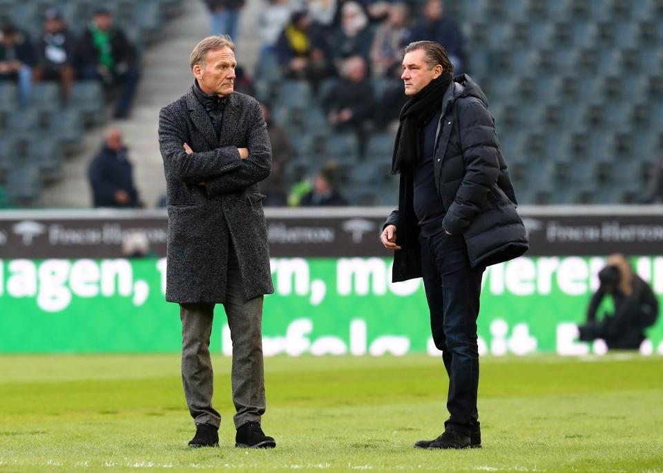 201718, 1. Bundesliga, Fussball, Fußball, GER, 1.BL, 1. BL, Herren, Saison, Sport, besprechen, austauschen, unterhalten - Borussia Mönchengladbach - BVB