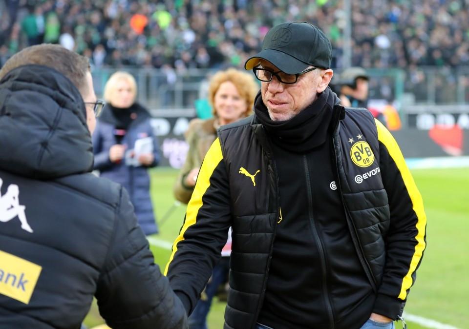 201718, 1. Bundesliga, Fussball, Fußball, GER, 1.BL, 1. BL, Herren, Saison, Sport, Halbfigur, halbe Figur, Halbkoerper - Borussia Mönchengladbach - BVB