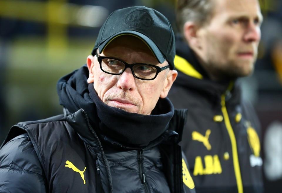201718, 1. Bundesliga, Fussball, Fußball, GER, 1.BL, 1. BL, Herren, Saison, Sport, football, Portrait - BVB - FC Augsburg