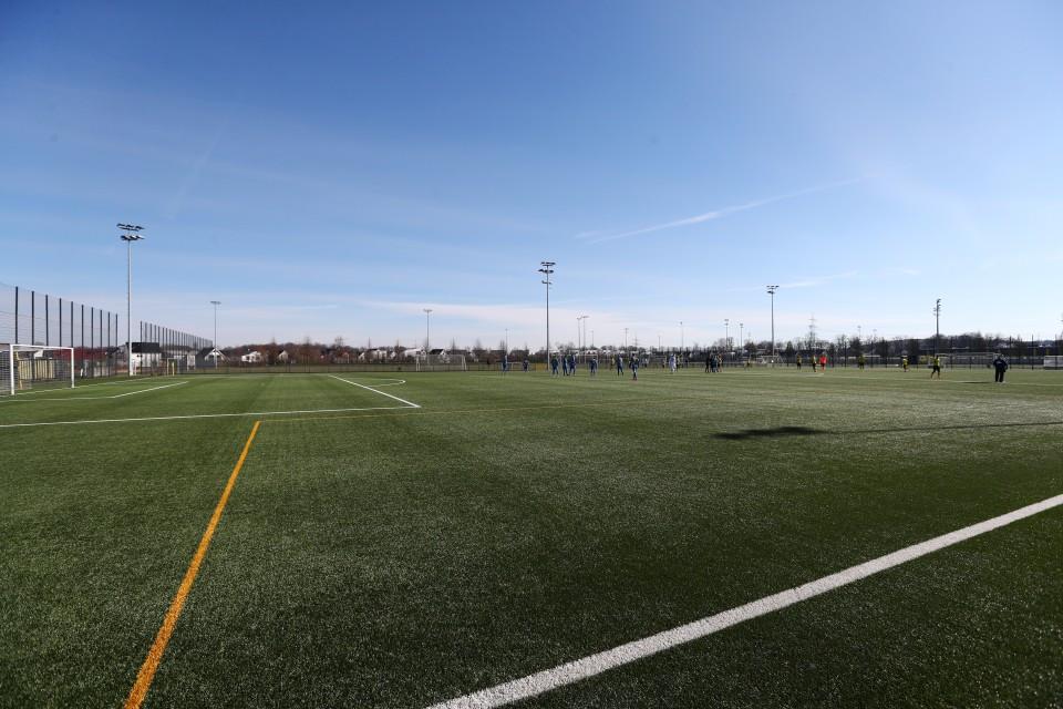 1718, Fussball, Fußball, Herren, Saison, Sport, football, Zweitvertretung, Reserve, 4. Liga, GER, NRW, U23, Amas, Amateure, Totale - BVB II - Westfalia Herne