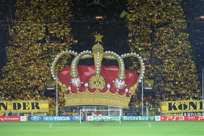 Königsklasse im Westfalenstadion
