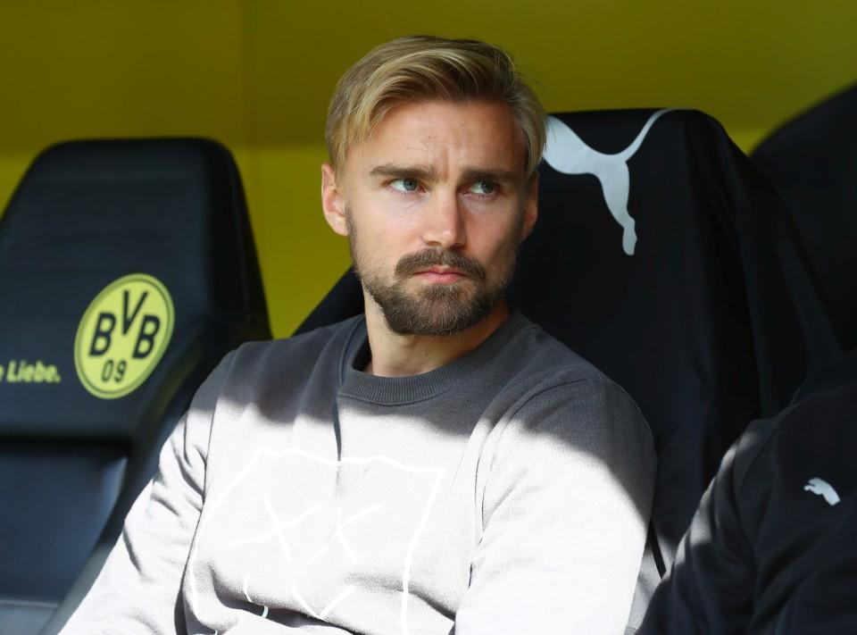 201819, 1. Bundesliga, Fussball, Fußball, GER, 1.BL, 1. BL, Herren, Saison, Sport, football, Halbfigur, halbe, Figur, Halbkörper - BVB - FC Augsburg