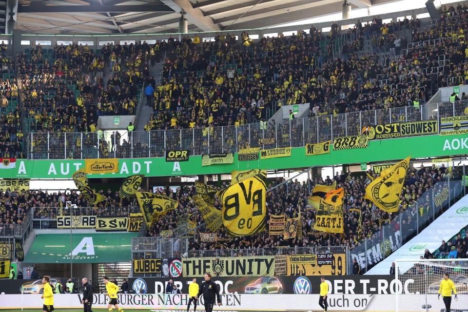 1. Bundesliga, 10. Spieltag, Auswärtsspiel, Auswärtssieg, VfL, Wolfsburg, Hinrunde, 2018-2019, Saison, 201819, Fußball, Borussia, Dortmund, BVB, 09 - VfL Wolfsburg - BVB
