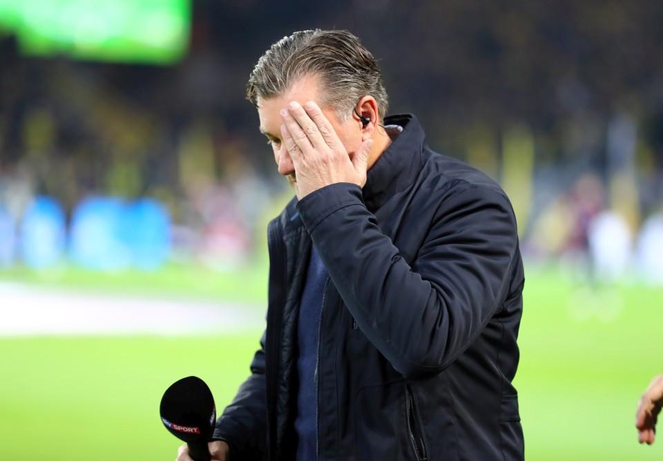 201819, 1. Bundesliga, Fussball, Fußball, GER, 1.BL, 1. BL, Herren, Saison, Sport, football, Halbfigur, halbe, Figur, Halbkörper, Gestik, Handbewegung - BVB - FC Bayern München
