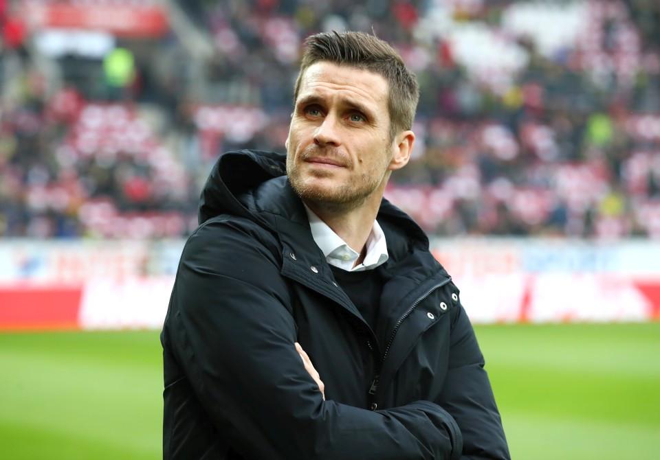 201819, 1. Bundesliga, Fussball, Fußball, GER, 1.BL, 1. BL, Herren, Saison, Sport, football, Halbfigur, halbe, Figur, Halbkörper - 1. FSV Mainz 05 - BVB