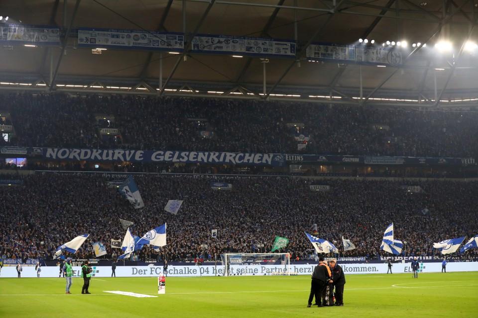 201819, 1. Bundesliga, Fussball, Fußball, GER, 1.BL, 1. BL, Herren, Saison, Sport, football, Derby - Gelsenkirchen - BVB