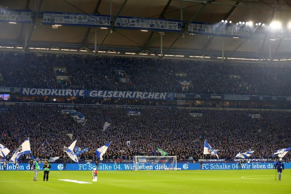 Gelsenkirchen, Schalke, FC, S04, 04, Derby, Revier, Hinrunde, 1. Bundesliga, Auswärtsspiel, 14. Spieltag, 2018-2019, Saison, 201819, Fußball, Borussia, Dortmund, BVB, 09 - Gelsenkirchen - BVB