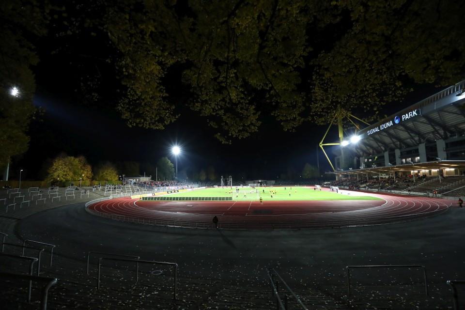 20182019, Fussball, Fußball, Herren, Saison, Sport, football, Zweitvertretung, Reserve, 4. Liga, GER, NRW, U23, Amas, Amateure, Totale - BVB - RW Essen
