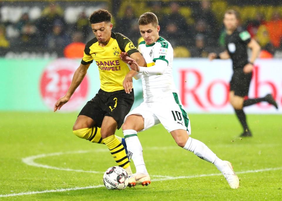 Im Halbraum ist Jadon Sancho für den BVB besonders wichtig.