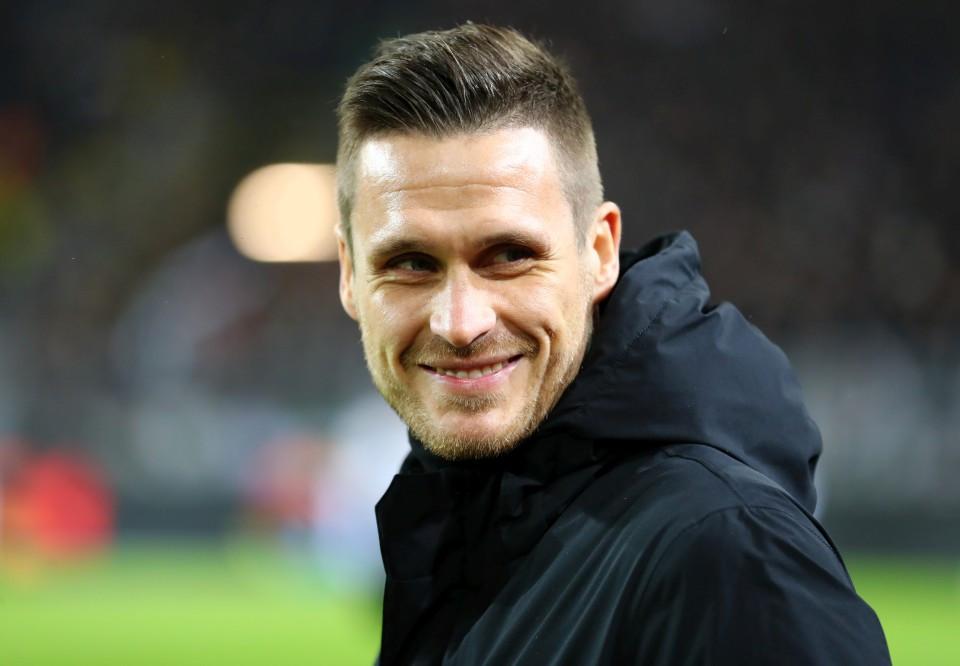 201819, 1. Bundesliga, Fussball, Fußball, GER, 1.BL, 1. BL, Herren, Saison, Sport, football, Portrait, lächeln, lachen, scherzen, Emotion, grinsen - BVB - Borussia Mönchengladbach
