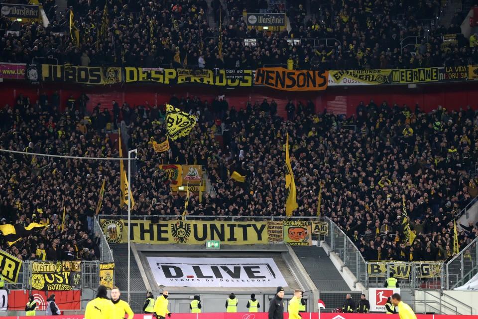 201819, 1. Bundesliga, Fussball, Fußball, GER, 1.BL, 1. BL, Herren, Saison, Sport, football - Fortuna Düsseldorf - BVB