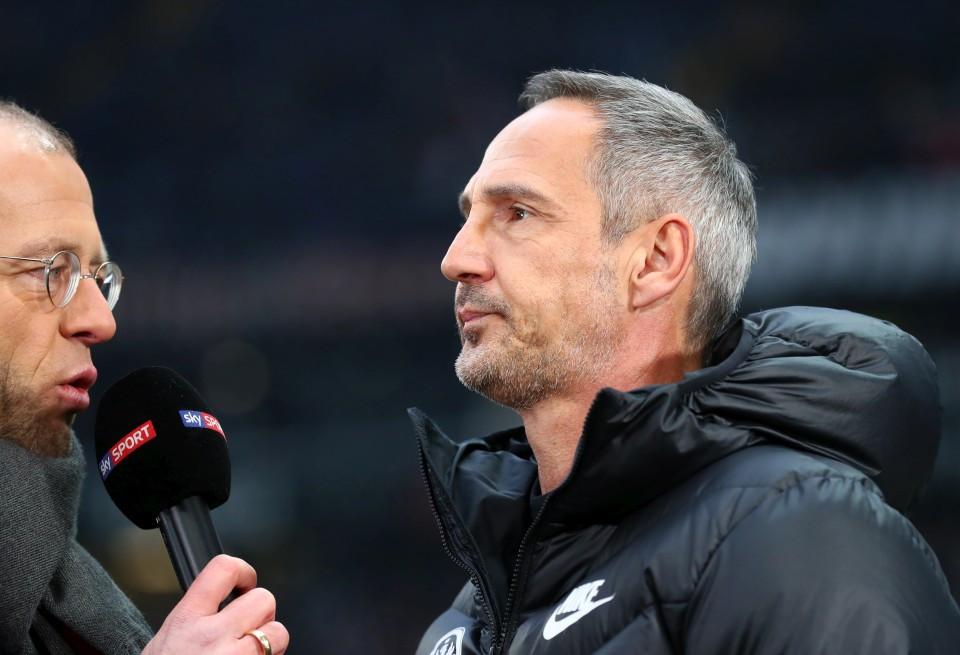 201819, 1. Bundesliga, Fussball, Fußball, GER, 1.BL, 1. BL, Herren, Saison, Sport, football, Portrait, Mikrofon - Eintracht Frankfurt - BVB