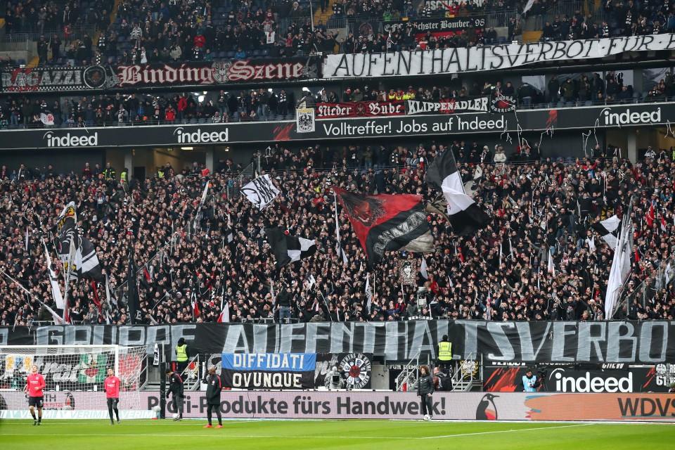 201819, 1. Bundesliga, Fussball, Fußball, GER, 1.BL, 1. BL, Herren, Saison, Sport, football - Eintracht Frankfurt - BVB