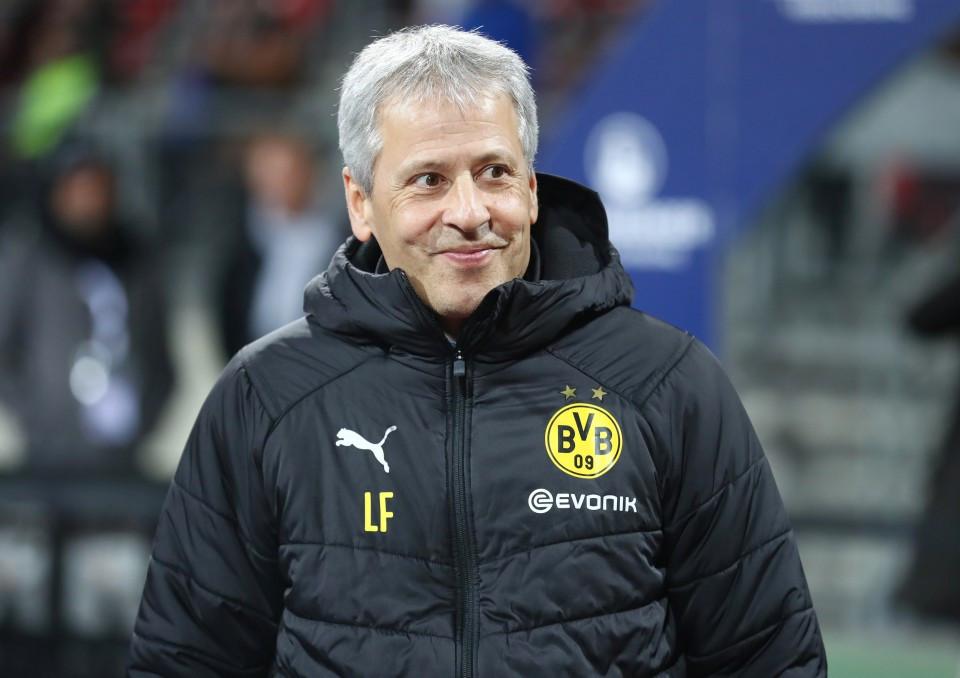 201819, 1. Bundesliga, Fussball, Fußball, GER, 1.BL, 1. BL, Herren, Saison, Sport, football, Halbfigur, halbe, Figur, Halbkörper, verschmitzt, grinsen, lachen - 1. FC Nürnberg - BVB