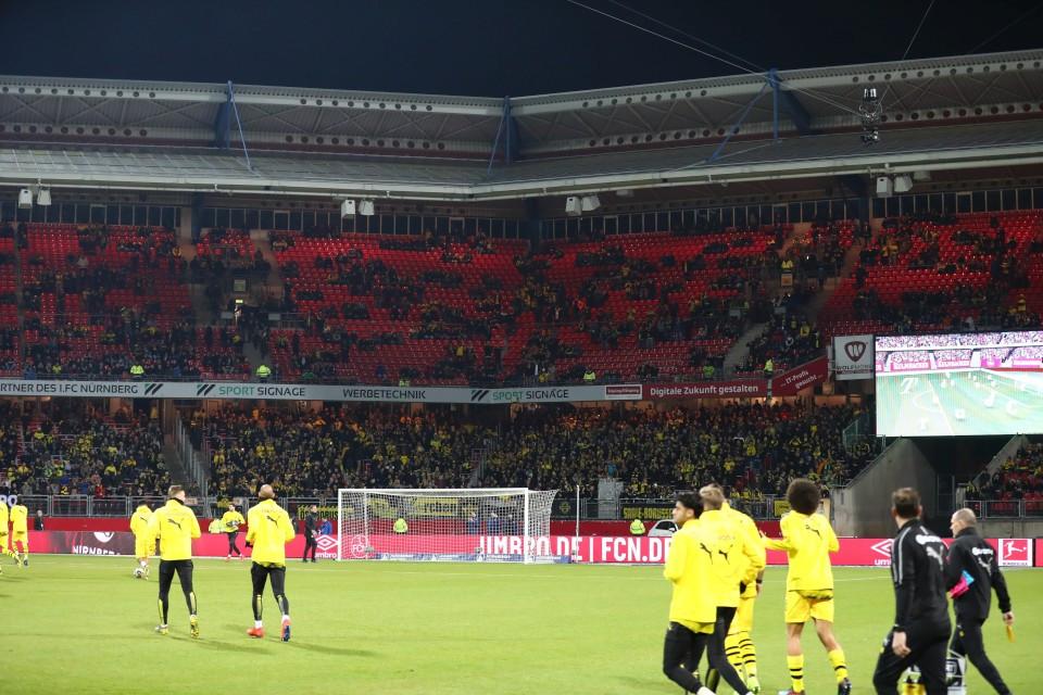 22. Spieltag, FCN, 1. FC, Nürnberg, Club, Auswärtsspiel, 1. Bundesliga, Rückrunde, Saison, 2018-19, 2018-2019, Fußball, Borussia, Dortmund, BVB, 09 - 1. FC Nürnberg - BVB