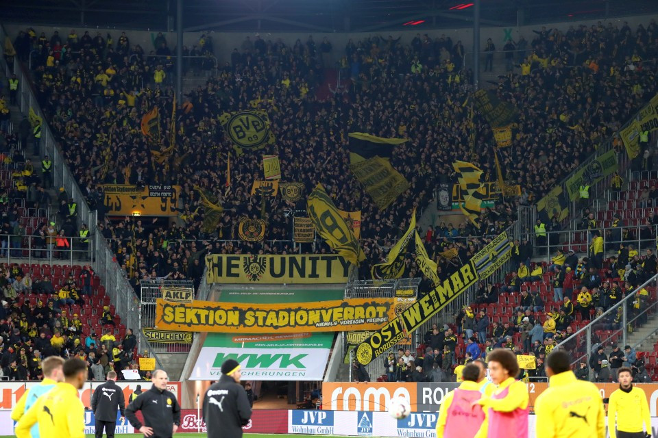 24. Spieltag, Auswärtsspiel, Auswärtsniederlage, Augsburg, FC, FCA, 1907, Rückrunde, Saison, 2018-19, 2018-2019, Fußball, Borussia, Dortmund, BVB, 09 - FC Augsburg - BVB
