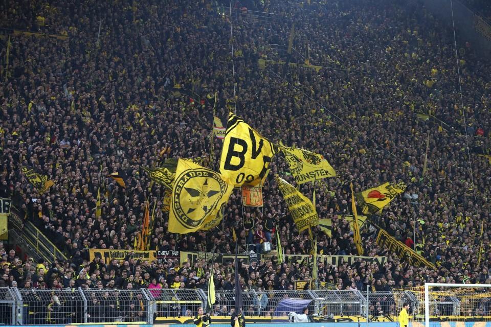 25. Spieltag, Heimspiel, Heimsieg, Stuttgart, VfB, 1893, 1. Bundesliga, Rückrunde, Saison, 2018-19, 2018-2019, Fußball, Borussia, Dortmund, BVB, 09 - BVB - VfB Stuttgart