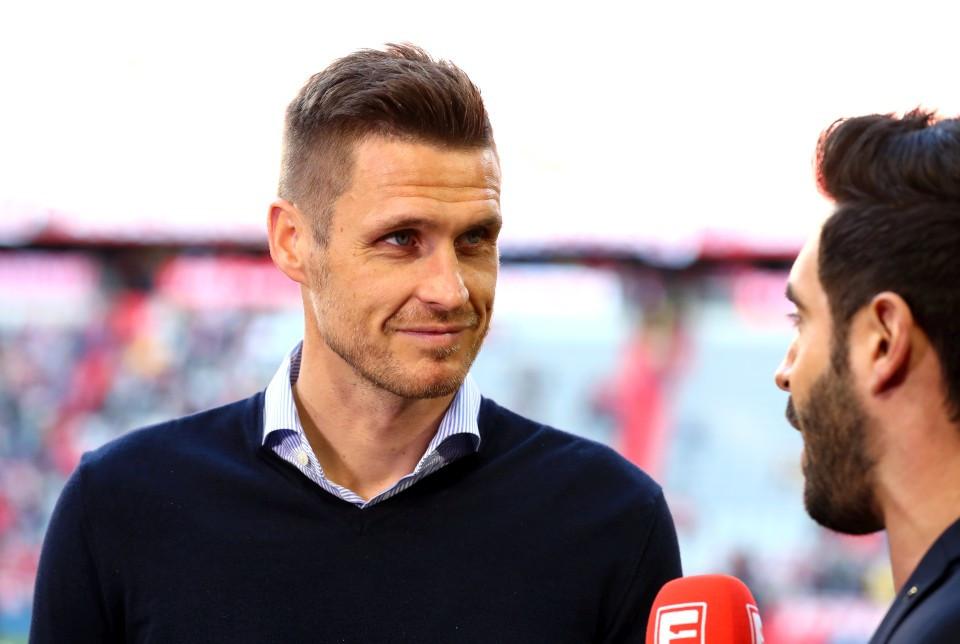 201819, 1. Bundesliga, Fussball, Fußball, GER, 1.BL, 1. BL, Herren, Saison, Sport, football, Portrait, Mikrofon - FC Bayern München - BVB