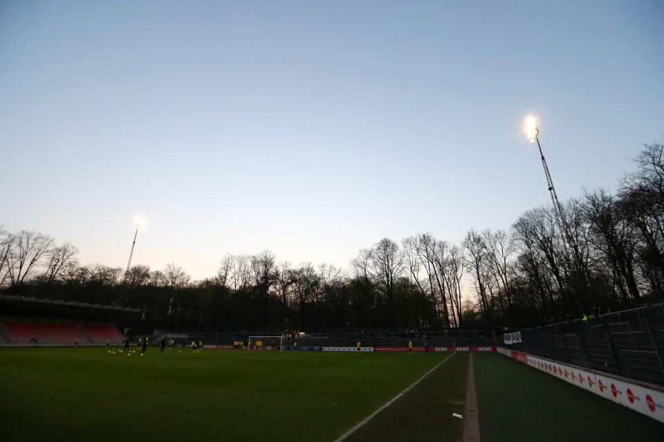 Regionalliga, West, 1. FC Köln, II, U23, Zweite, Zweitvertretung, Amas, Amateure, Auswärtsspiel, Auswärtsniederlage, Rückrunde, Saison, 2018-19, 2018-2019, Fußball, Borussia, Dortmund, BVB, 09 - 1. FC Köln U23 - BVB II