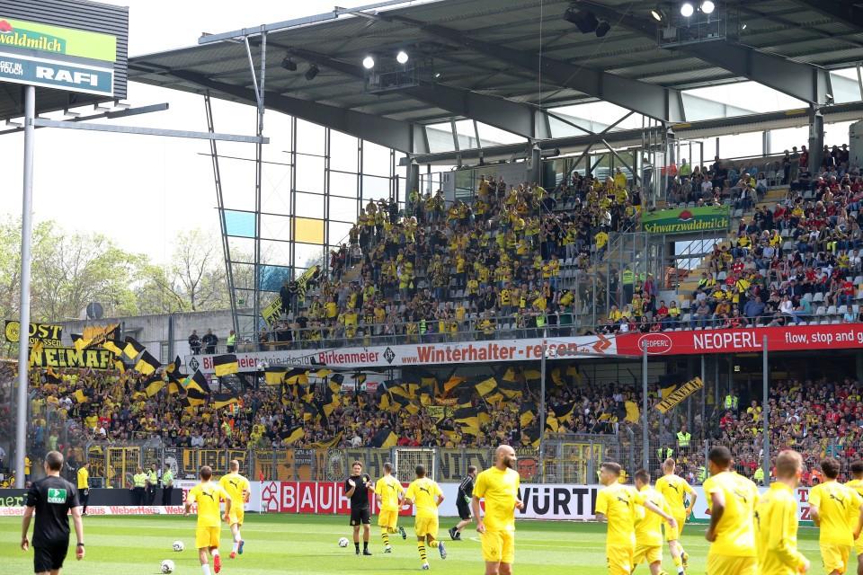 SCF, SC, Freiburg, 20. Spieltag, Auswärtsspiel, Auswärtssieg, 1. Bundesliga, Rückrunde, Saison, 2018-19, 2018-2019, Fußball, Borussia, Dortmund, BVB, 09 - SC Freiburg - BVB