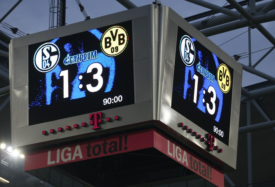Derby - Hinspiel 2010/2011