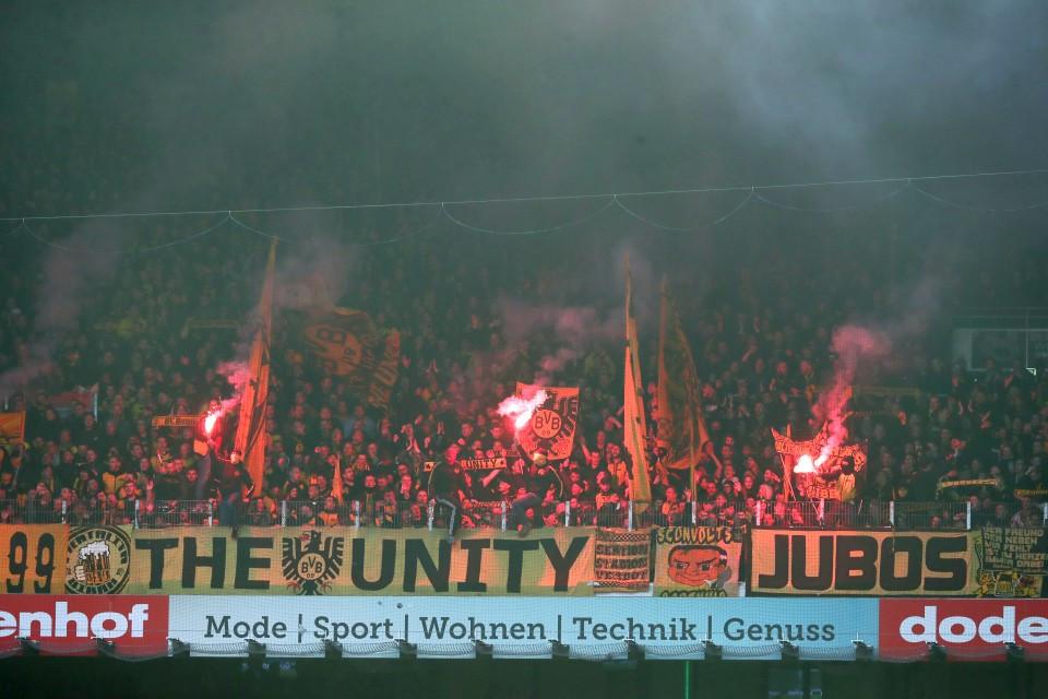 1. Bundesliga, 32. Spieltag, Auswärtsspiel, Unentschieden, Punkteteilung, SV, Werder, Bremen, SVW, Rückrunde, Saison, 2018-19, 2018-2019, Fußball, Borussia, Dortmund, BVB, 09 - SV Werder Bremen - BVB