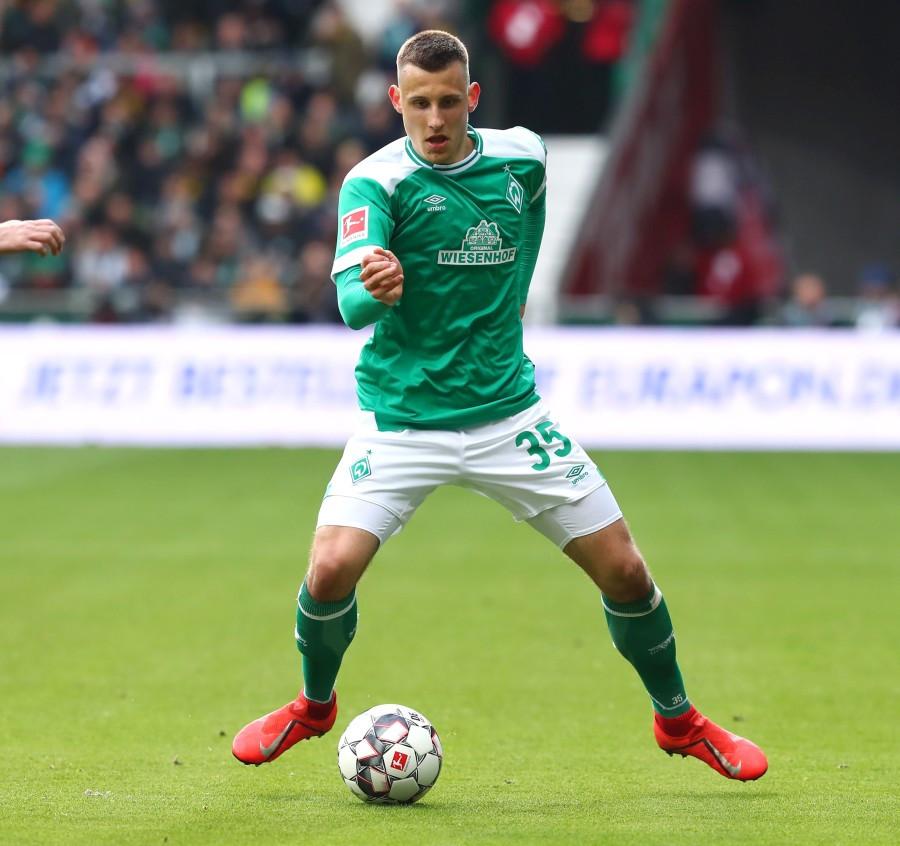 201819, 1. Bundesliga, Fussball, Fußball, GER, 1.BL, 1. BL, Herren, Saison, Sport, football, Freisteller, Einzelaktion - SV Werder Bremen - BVB