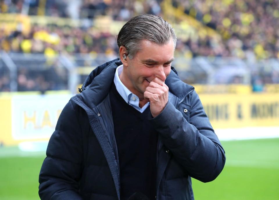 201819, 1. Bundesliga, Fussball, Fußball, GER, 1.BL, 1. BL, Herren, Saison, Sport, football, Halbfigur, halbe, Figur, Halbkörper, Gestik, Handbewegung - BVB - Fortuna Düsseldorf