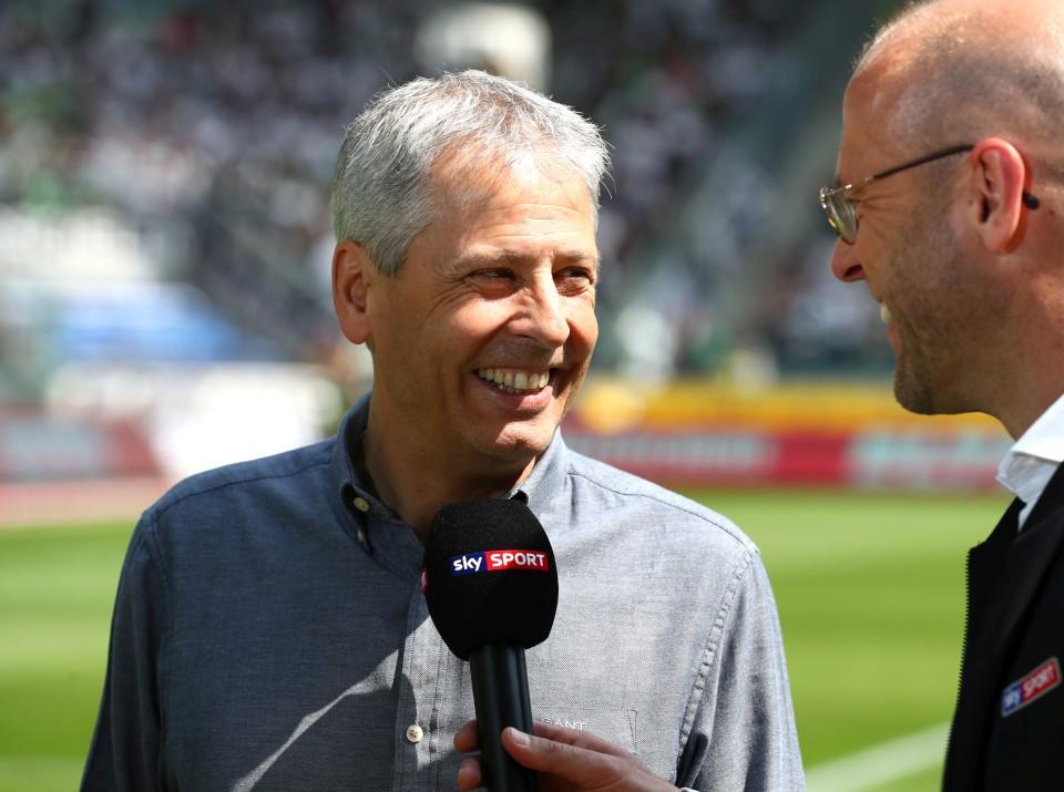 201819, 1. Bundesliga, Fussball, Fußball, GER, 1.BL, 1. BL, Herren, Saison, Sport, football, Portrait, Mikrofon - Borussia Mönchengladbach - BVB