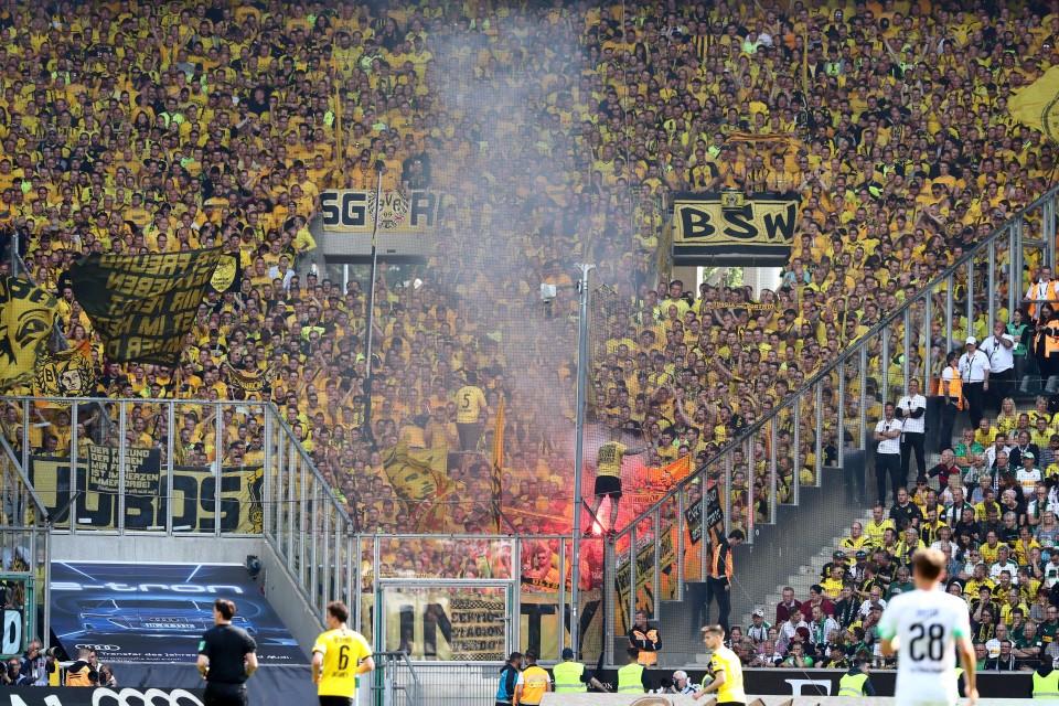34. Spieltag, VfL, 1900, Mönchengladbach, MG, BMG, Auswärtsspiel, Auswärtssieg, 1. Bundesliga, Rückrunde, Saison, 2018-19, 2018-2019, Fußball, Borussia, Dortmund, BVB, 09 - Borussia Mönchengladbach - BVB
