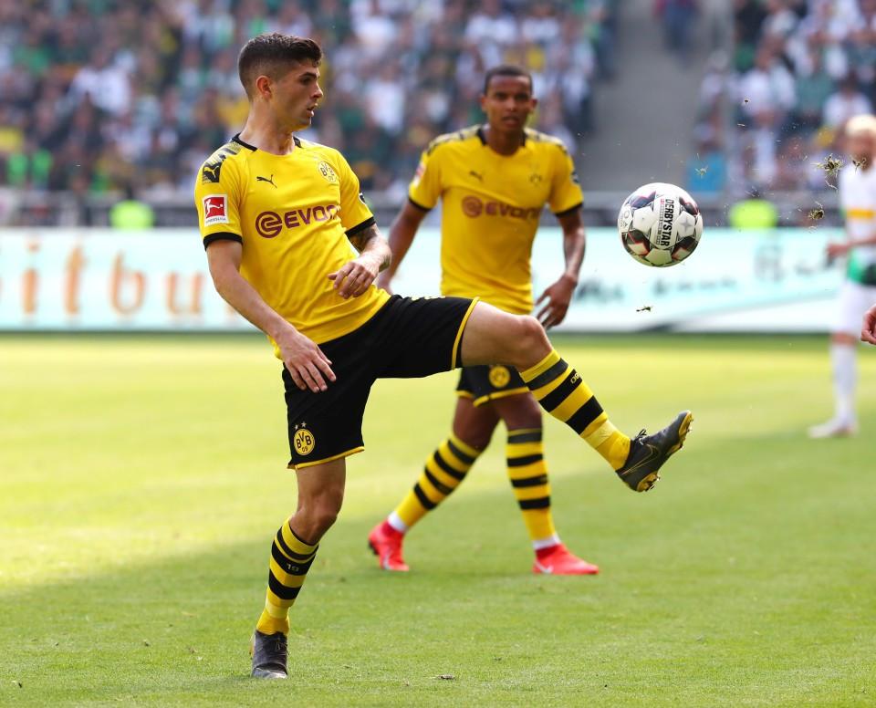 201819, 1. Bundesliga, Fussball, Fußball, GER, 1.BL, 1. BL, Herren, Saison, Sport, football, Freisteller, Einzelaktion - Borussia Mönchengladbach - BVB