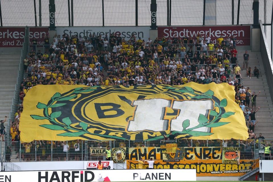 20192020, Fussball, Fußball, Herren, Saison, Sport, football, Zweitvertretung, Reserve, 4. Liga, GER, NRW, U23, Amas, Amateure - Rot-Weiss Essen - BVB II