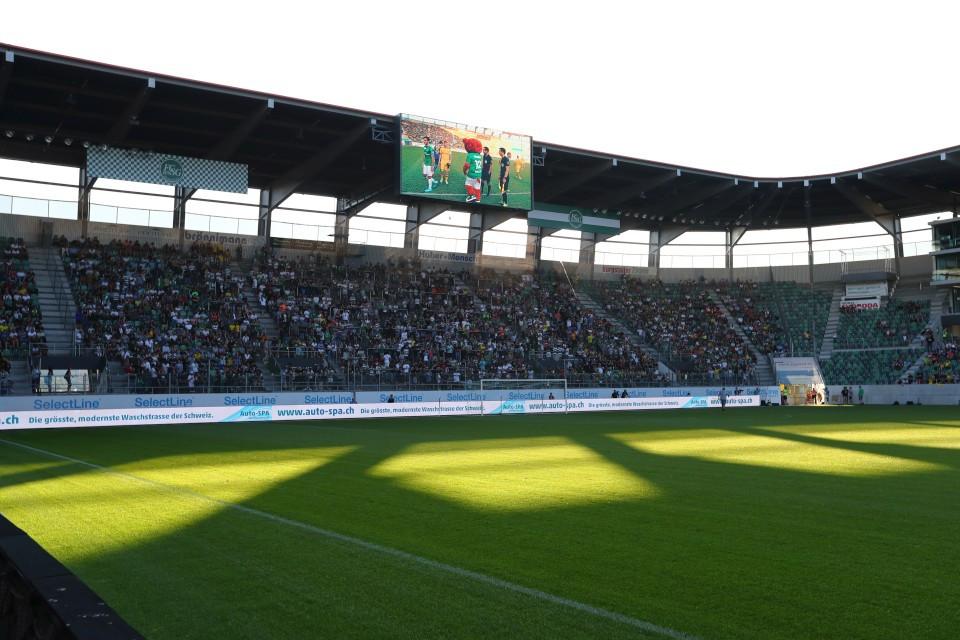 FCSG, FC, St., Sankt, Gallen, Sommervorbereitung, Freundschaftsspiel, Testspiel, Fußball, Saison, 2019-2020, Borussia, Dortmund, BVB, 09 - FC St. Gallen - BVB