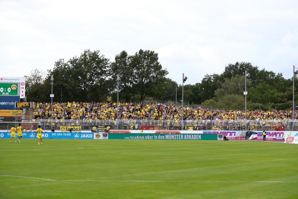 Vorbereitung, SC, Preußen, Münster, SCP, Testspiel, Freundschaftsspiel, Fußball, Saison, 2019-2020, Borussia, Dortmund, BVB, 09 - SC Preußen Münster - BVB