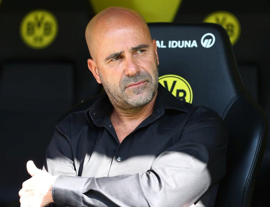 201920, 1. Bundesliga, Fussball, Fußball, GER, 1.BL, 1. BL, Herren, Saison, Sport, football, Halbfigur, halbe, Figur, Halbkörper - BVB - Bayer 04 Leverkusen
