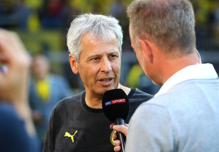 201920, 1. Bundesliga, Fussball, Fußball, GER, 1.BL, 1. BL, Herren, Saison, Sport, football, Portrait, Mikrofon - BVB - Bayer 04 Leverkusen