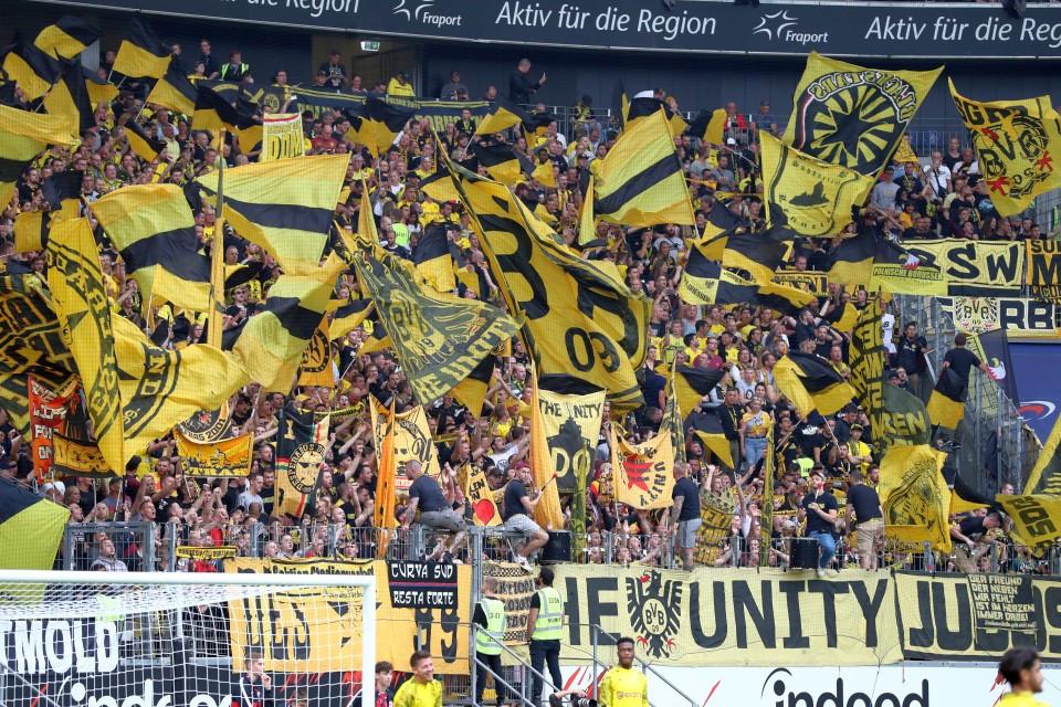 1. Bundesliga, 5. Spieltag, Auswärtsspiel, Unentschieden, SGE, SG, Eintracht, Frankfurt, Hinrunde, Fußball, Saison, 2019-2020, Borussia, Dortmund, BVB, 09 - Eintracht Frankfurt - BVB