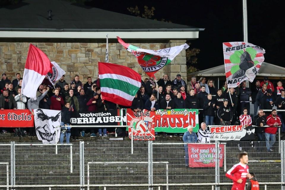 20192020, Fussball, Fußball, Herren, Saison, Sport, football, Zweitvertretung, Reserve, 4. Liga, GER, NRW, U23, Amas, Amateure, Fahnen, Schwenkfahnen - BVB II - RW Oberhausen