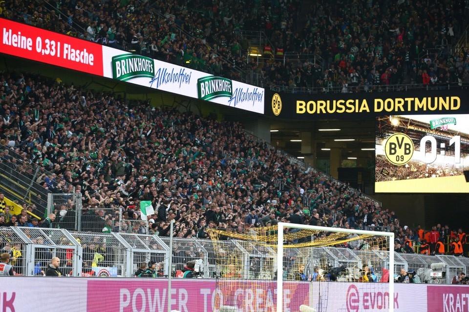 1. Bundesliga, Unentschieden, SV, Werder, Bremen, SVW, 6. Spieltag, Heimspiel, Hinrunde, Fußball, Saison, 2019-2020, Borussia, Dortmund, BVB, 09 - BVB - Werder Bremen