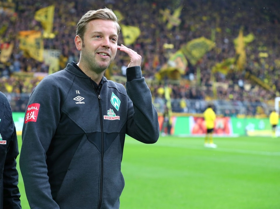 201920, 1. Bundesliga, Fussball, Fußball, GER, 1.BL, 1. BL, Herren, Saison, Sport, football, Halbfigur, halbe, Figur, Halbkörper - BVB - Werder Bremen
