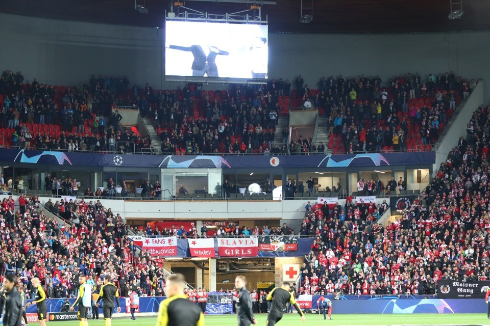 UCL, Champions, League, Gruppenphase, 2. Spieltag, Auswärtsspiel, Auswärtssieg, SK, Slavia, Prag, Praha, Fußball, Saison, 2019-2020, Borussia, Dortmund, BVB, 09 - Slavia Prag - BVB