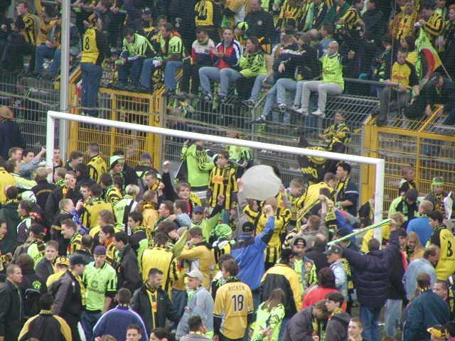 2001/2002 - am Ende
