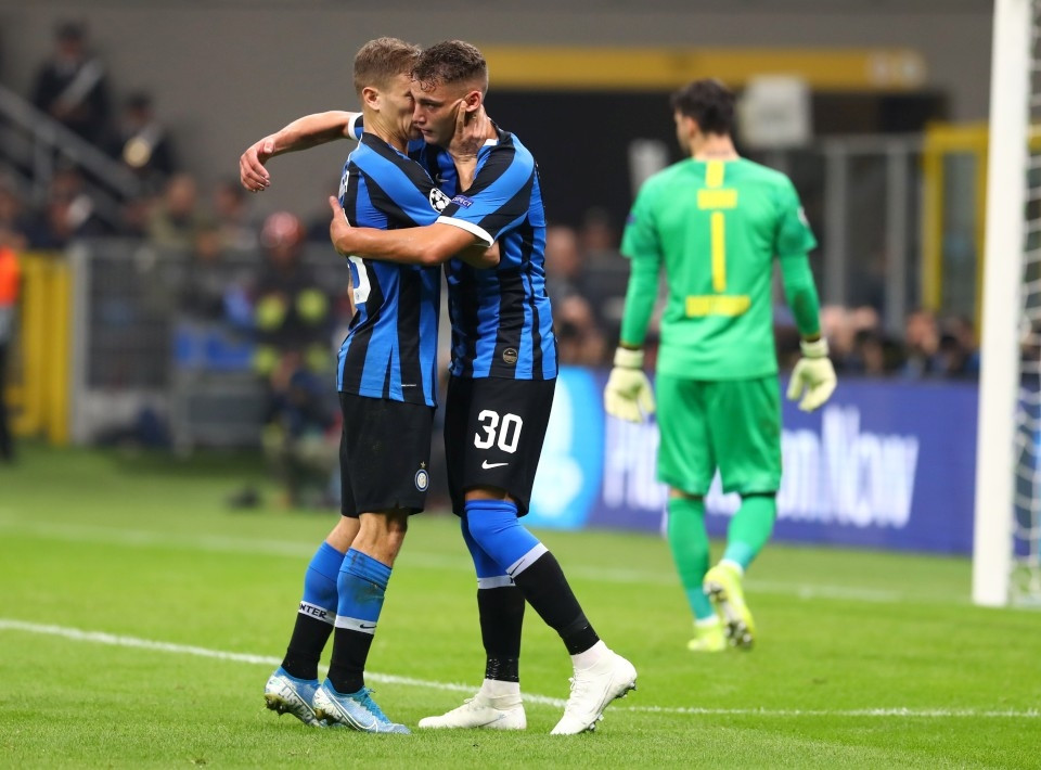 201920, Fussball, Fußball, UEFA, Herren, Saison, Sport, football, Gruppenphase, Vorrunde, UCL, Jubel, Freude, Emotion, jubeln, feiern - Inter Mailand - BVB