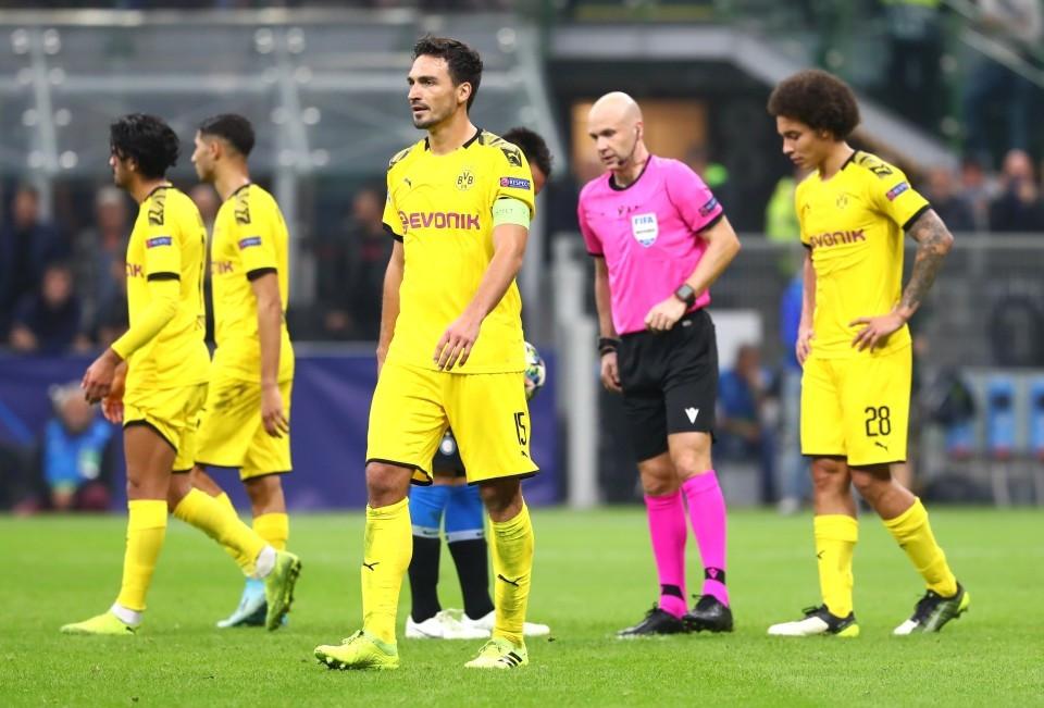 201920, Fussball, Fußball, UEFA, Herren, Saison, Sport, football, Gruppenphase, Vorrunde, UCL, nachdenklich, verhalten, grübelt, grübeln, grimmig - Inter Mailand - BVB