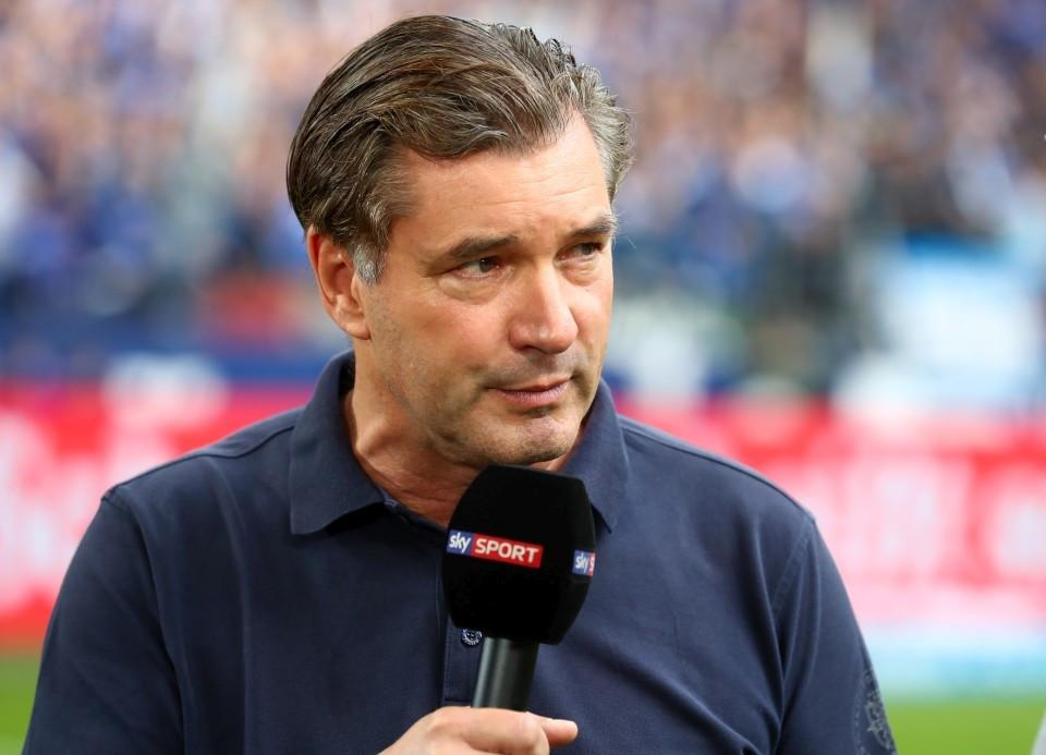 201920, 1. Bundesliga, Fussball, Fußball, GER, 1.BL, 1. BL, Herren, Saison, Sport, football, Podium, Mikrofon, Portrait - Gelsenkirchen - BVB
